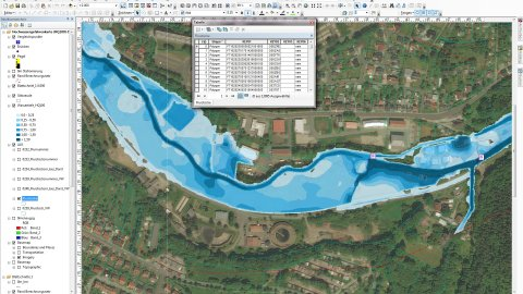 Erstellung Hochwassergefahrenkarten mit ArcMap